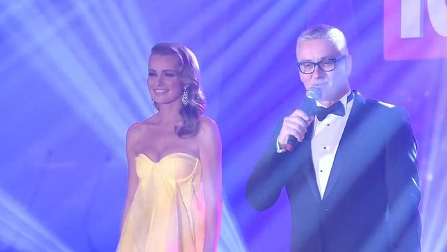 Agnieszka Cegielska i Artur Orzech prowadzili galę Telekamer 2019
