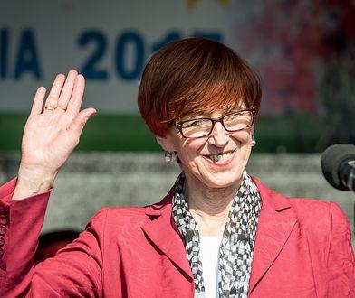 Elżbieta Rafalska, minister rodziny, pracy i polityki społecznej od 2015 roku