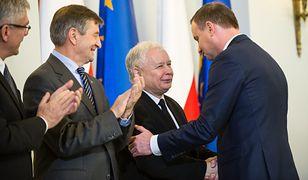 Jarosław Kaczyński i Andrzej Duda
