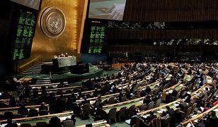W głosowaniu wzięło udział 166 państw