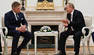 Premier Słowacji Robert Fico rozmawiał w Moskwie z prezydentem Rosji Władimirem Putinem