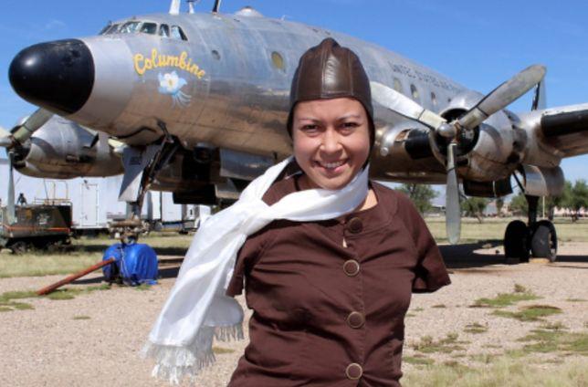 Jessica Cox jest pierwszą na świecie pilotką bez rąk