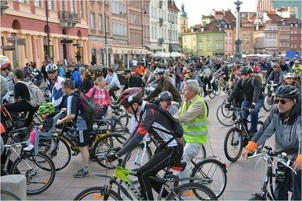 Kolejny przejazd Warszawskiej Masy Krytycznej. Będą utrudnienia