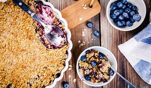 Crumble – błyskawiczny deser z owocami