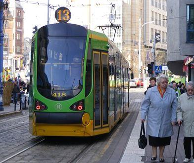 Po Poznaniu kursują dziś tramwaje marki Moderus Beta wyprodukowane przez Modertrans.
