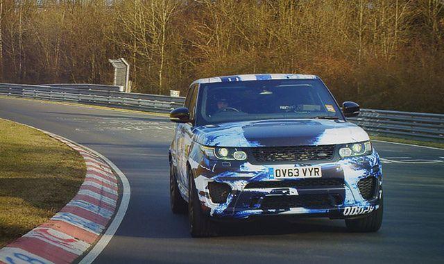Range Rover Sport SVR: SUV na sportowo