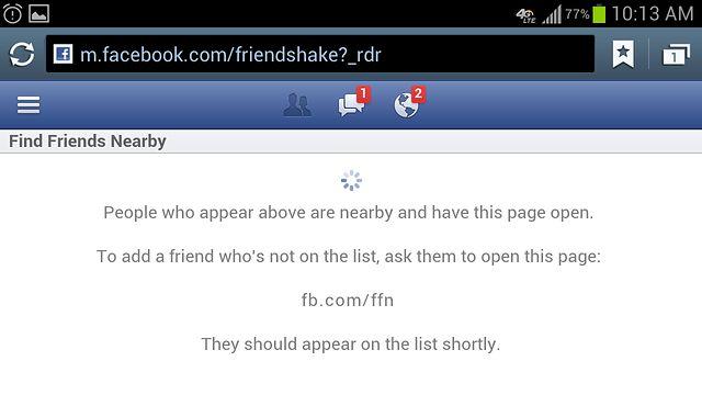 Nowa funkcja Facebooka wyszuka znajomych w pobliżu