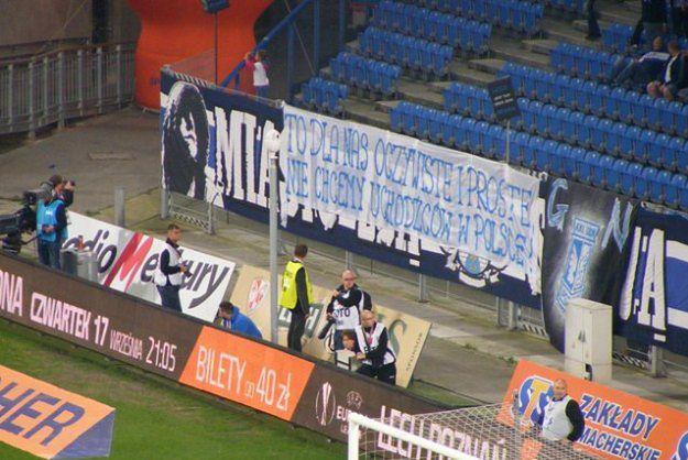 Jaśkowiak sugeruje, że źródłem rasistowskich ataków w Poznaniu mogą być hasła na stadionie