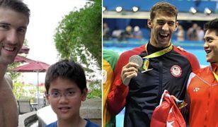 8 lat temu prosił o zdjęcie ze swoim mistrzem. Dziś sam wygrał z Phelpsem!