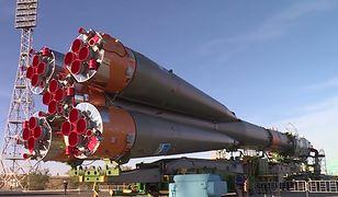 Rakieta Sojuz-FG wyśle statek kosmiczny Sojuz-MS10 z astronautami na stację ISS