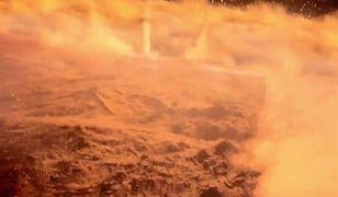 Łazik Opportunity został uwięziony w środku burzy