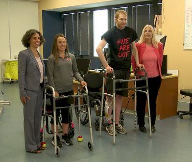 Dzięki rewolucyjnemu implantowi, dwoje pacjentów znów stanęło na nogi