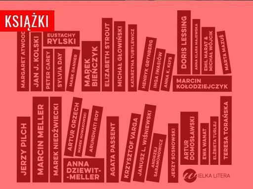 Wielka Litera oferuje książki znanych polskich autorów