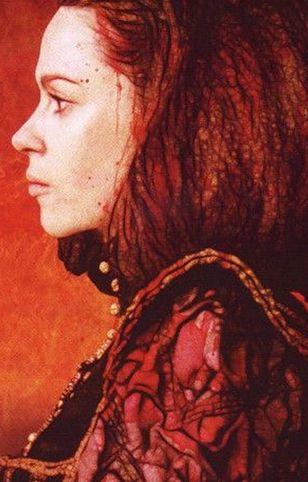 Fragment plakatu słowackiego filmu o Elżbiecie Batory