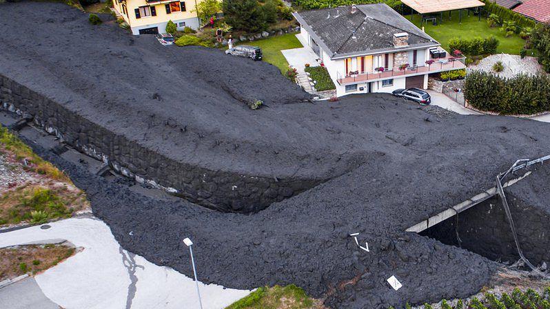 Załamanie pogody na południu Szwajcarii. Przez gminę Chamoson przeszły lawiny błotne