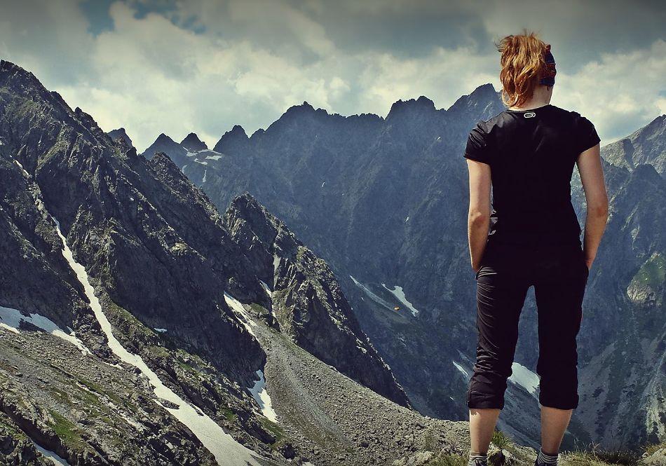 Napisała kilka słów na temat górskich wypraw. I trafiła w sedno