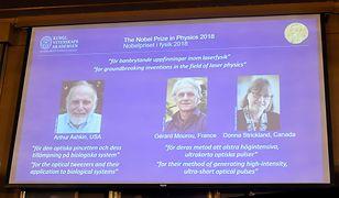 Nobel z fizyki przyznany. Za przełomowe odkrycie w fizyce laserów