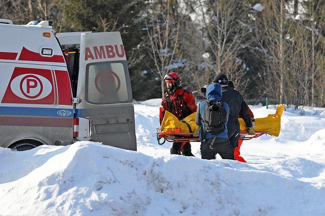 Akcja ratunkowa w Tatrach / Zdj. ilustracyjne