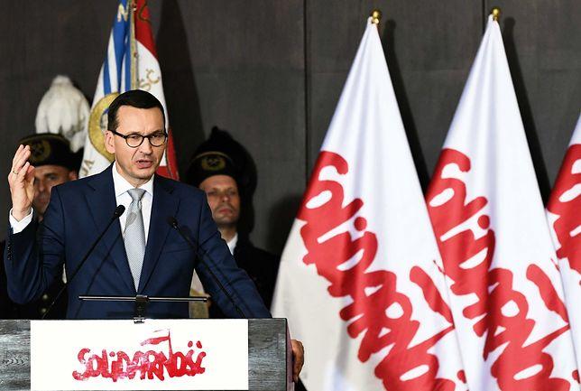 """Mateusz Morawiecki w Gdańsku: cała Polska jest pod znakiem """"S"""""""
