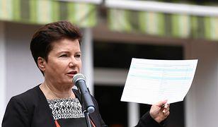 Hanna Gronkiewicz-Waltz, prezydent Warszawy.