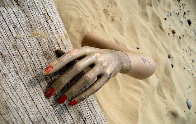 Miejsca pochłonięte przez piasek