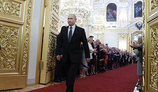 Władimir Putin czwarty raz złożył przysięgę jako prezydent Rosji