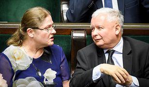 Krystyna Pawłowicz, Jarosław Kaczyński