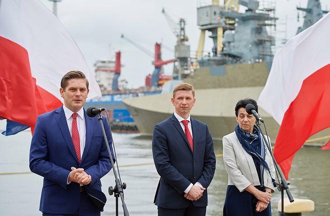 Bartosz Kownacki ogłasza plan uratowania Stoczni Marynarki Wojennej za 224 mln złotych.