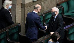 Piotr Wawrzyk wybrany na RPO przez Sejm. Jarosław Kaczyński gratuluje politykowi