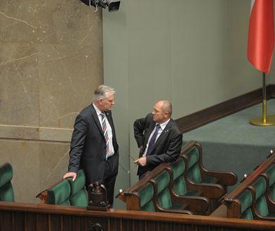 Jarosław Gowin i Marek Sawicki