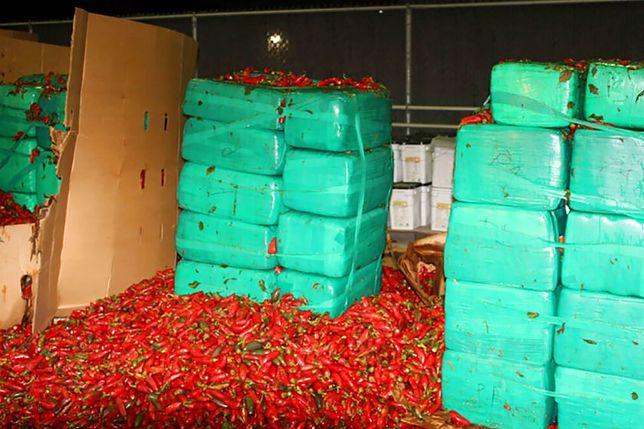3,5 tys. kilogramów marihuany na statku z papryczkami jalapeno