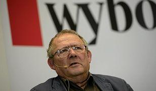 "Redaktor naczelny ""Gazety Wyborczej"" Adam Michnik"