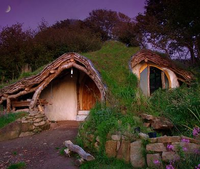 """Bajkowy dom dla fanów """"Hobbita"""""""