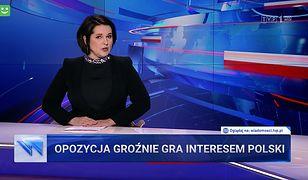 """""""Wiadomości"""" obarczyły winą za dążenia do Polexitu opozycję z PO na czele"""