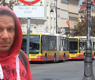 """Kierowca autobusu do Grzegorza Małeckiego: """"Jesteś żadnym """"panem"""", tylko zwykłą kur*ą"""". Jest reakcja przewoźnika"""