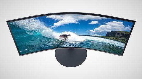 Monitory Samsung T55 już w sprzedaży. Oferują matryce z zakrzywieniem 1000R