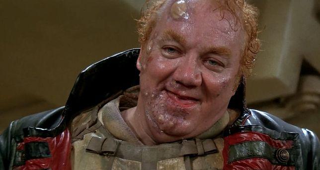 "Kenneth McMillan jako groteskowy Baron Vladimir Harkonnen w ""Diunie"" Davida Lyncha z 1984 r."