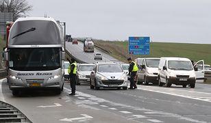 Blokada na autostradzie A6 w piątek
