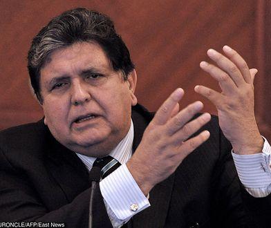 Alan Garcia zmarł w szpitalu