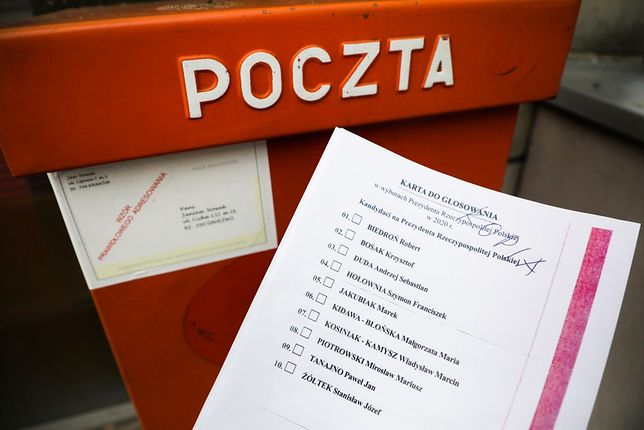 Głosowanie korespondencyjne 10 maja budziło od początku sporo kontrowersji