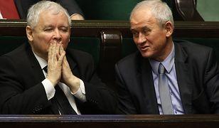 Jarosław Kaczyński i Krzysztof Tchórzewski