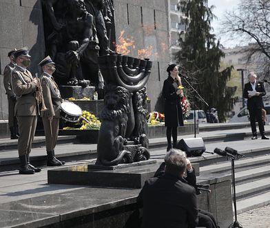 Getto warszawskie. Obchody 78. rocznicy wybuchu powstania [ZDJĘCIA]