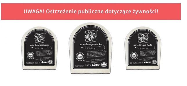 Powodem wycofania sera jest wykrycie bakterii Listeria monocytogenes