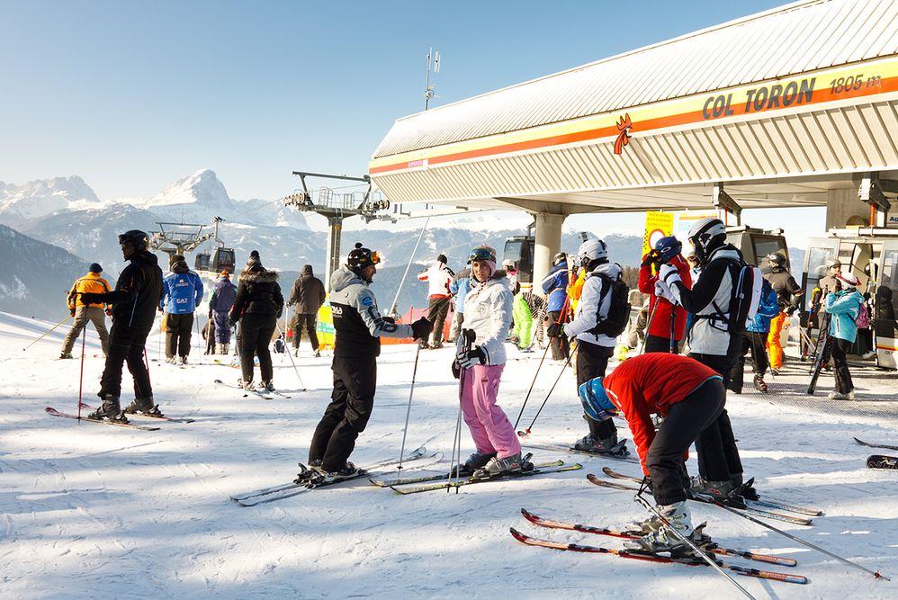 Tyrol. Włochy. Idealne miejsce na narty i kulinarną rozpustę