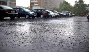 Gwałtowny deszcz i silny wiatr zaatakował Gorzów