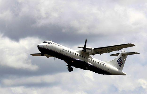 Samolot linii Trigana Air Service w styczniu 2015 r.