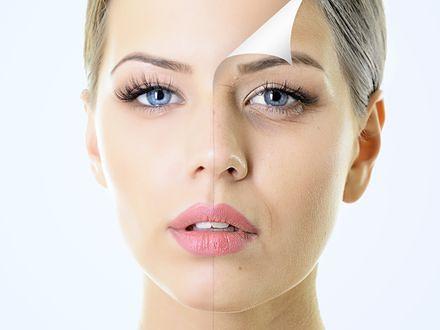Schodząca skóra z twarzy to problem wielu kobiet