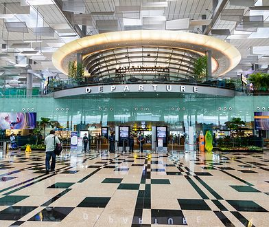 Lotnisko w Singapurze robi wrażenie