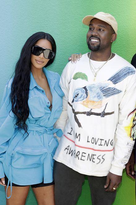 Kanye West chętnie przespałby się z siostrami Kim. Ludzie oburzeni
