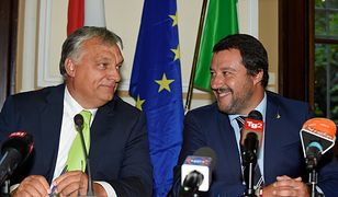 Viktor Orban i Matteo Salvini. To będzie trzon nowego europejskiego sojuszu?